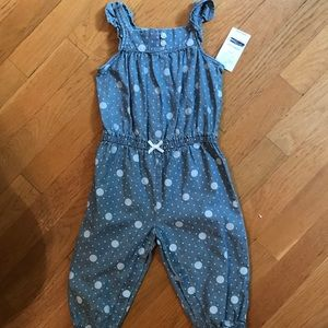 Carters 9M Baby one piece circles/polka dots NWT